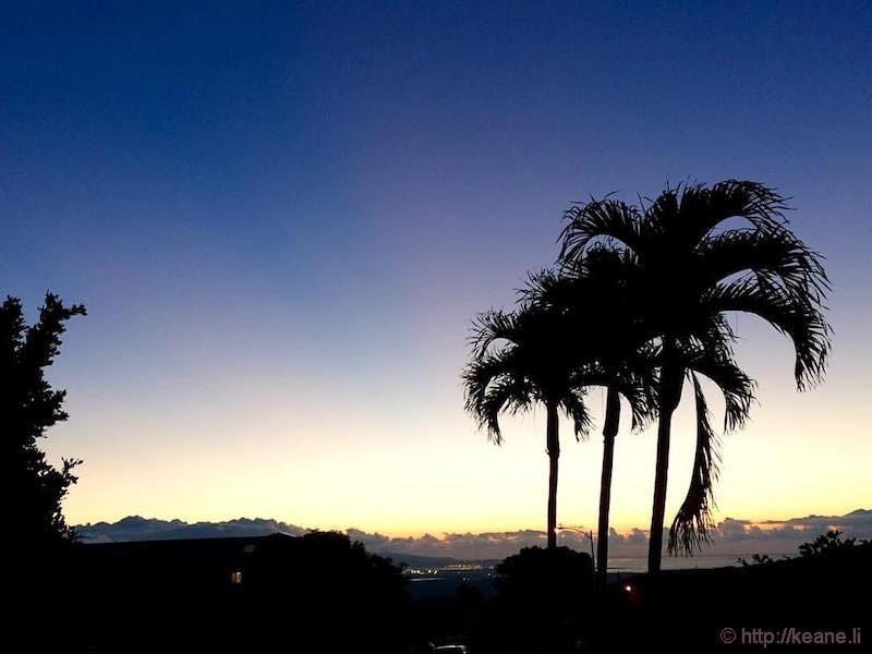 Sunrise on Oahu