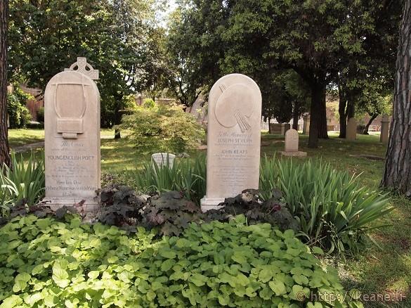 Cimitero Accatolico - Grave of John Keats