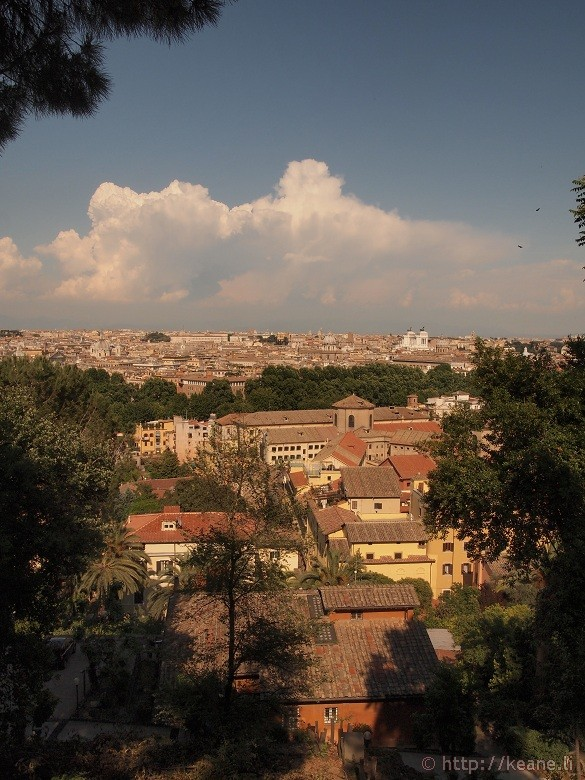 View of Rome from Gianicolo