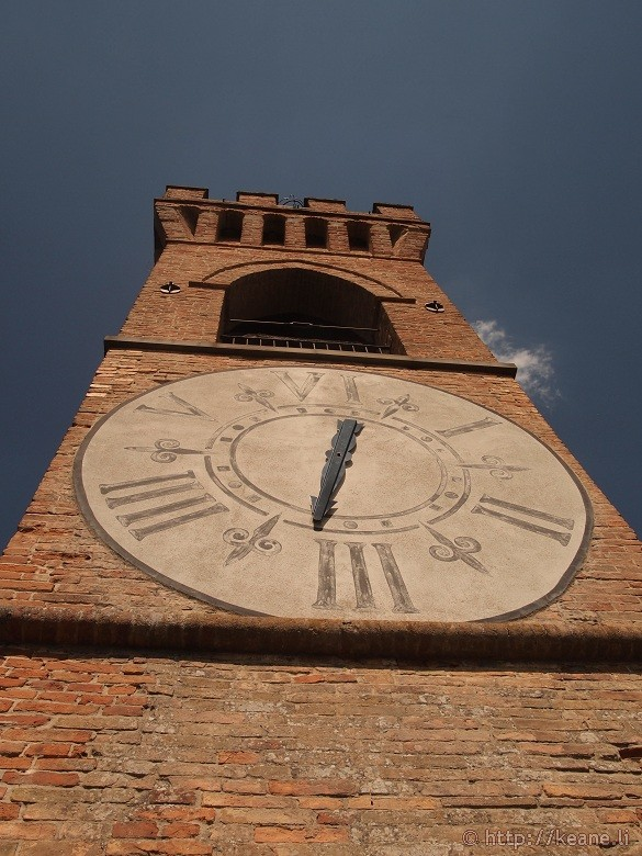 The Torre dell'Orologio in Brisighella