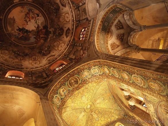 The Basilica di San Vitale in Ravenna