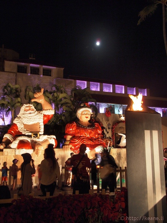 Honolulu City Lights - Christmas 2012 - Santa Claus