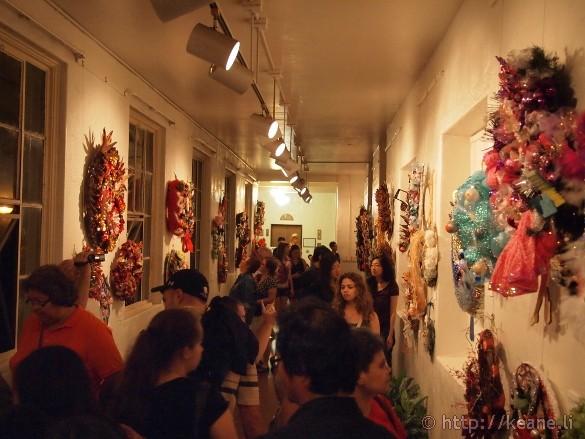 Honolulu City Lights - Christmas 2012 - Wreath Exhibit