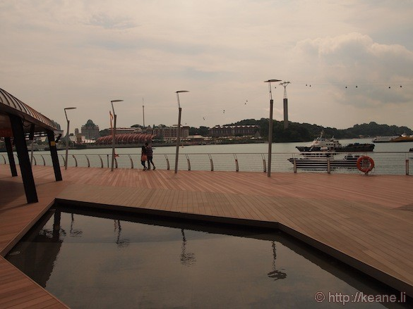 Sentosa Island in Singapore - Sentosa Boardwalk