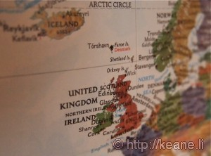 United Kingdom World Map