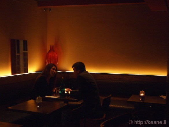 Grand Opening of Muka in San Francisco - Couple Dining in the Dark