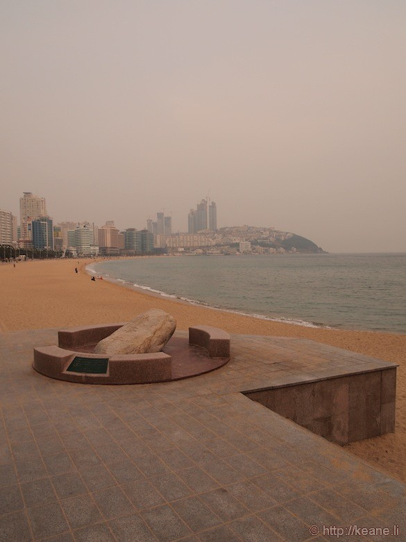 Beach and Hotels in Busan