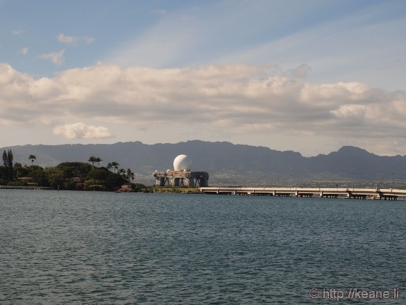 Sea-based X-band Radar in Pearl Harbor
