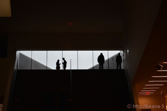 Inside the de Young Museum