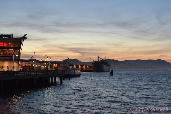 Fisherman's Wharf by Night: Aquatic Park Sunset to Pier 39 After Dark