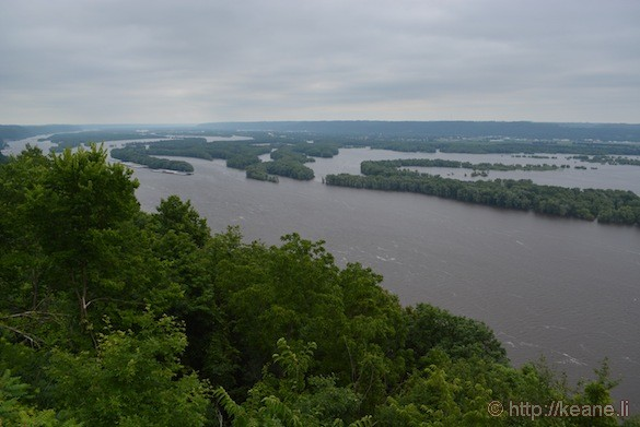 Mississippi River Overflowing