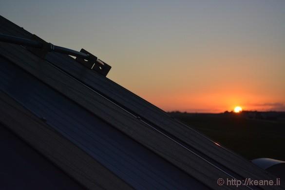 Sunset in Decorah, IA