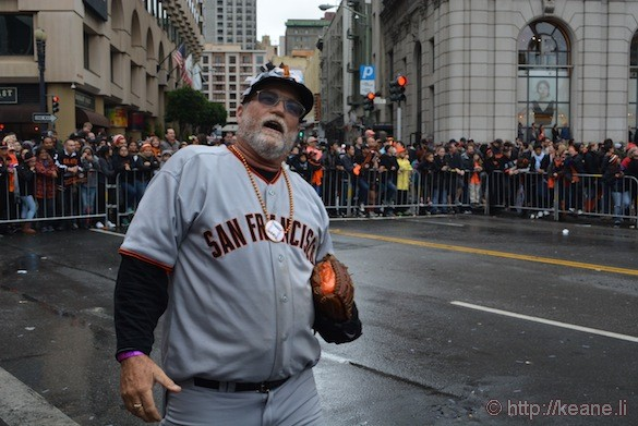 SF Giants World Series 2014 Parade - McClure