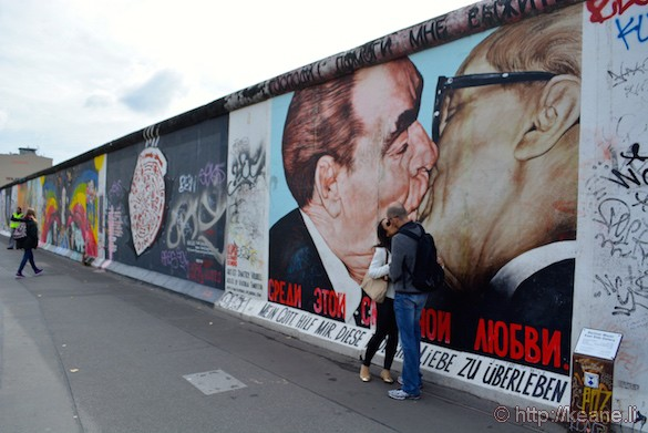 Berlin Wall Memorial - My God, Help Me to Survive This Deadly Love or Fraternal Kiss