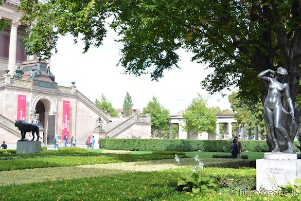 Courtyard at the National Museums in Berlin