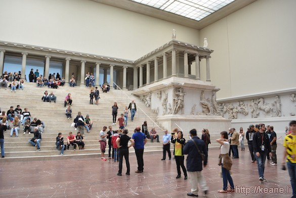 Pergamon Altar in the Pergamon Museum of the National Museums in Berlin