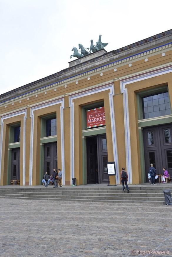 Thorvaldsens Museum Entrance