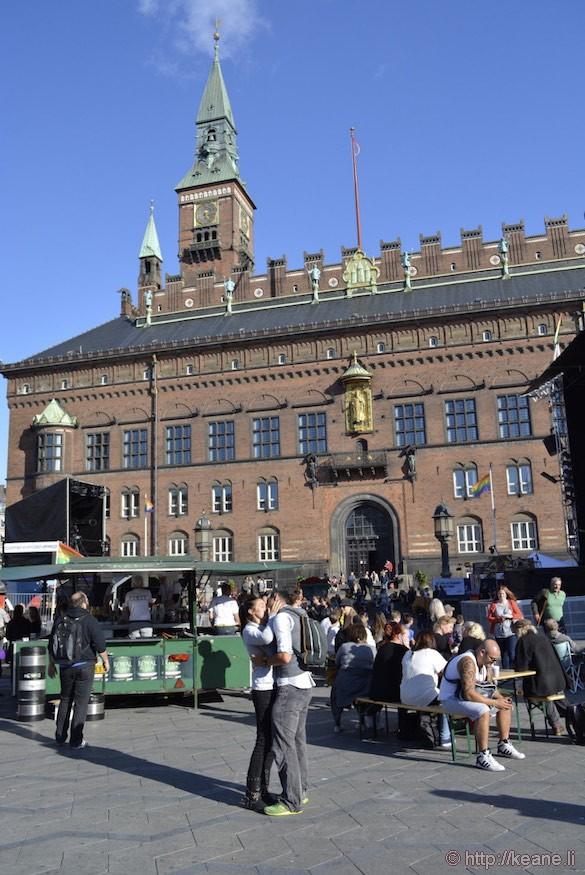 Copenhagen Gay Pride 2014 at City Hall