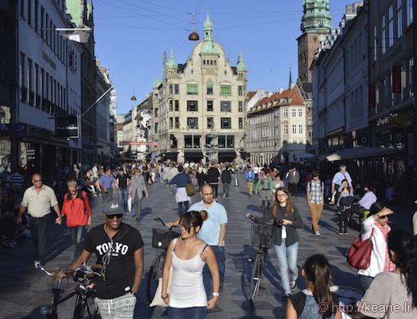 Historic Copenhagen Downtown
