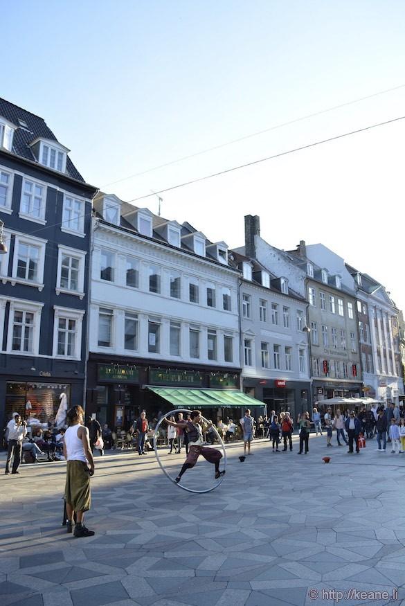 Historic Center Performers in Copenhagen