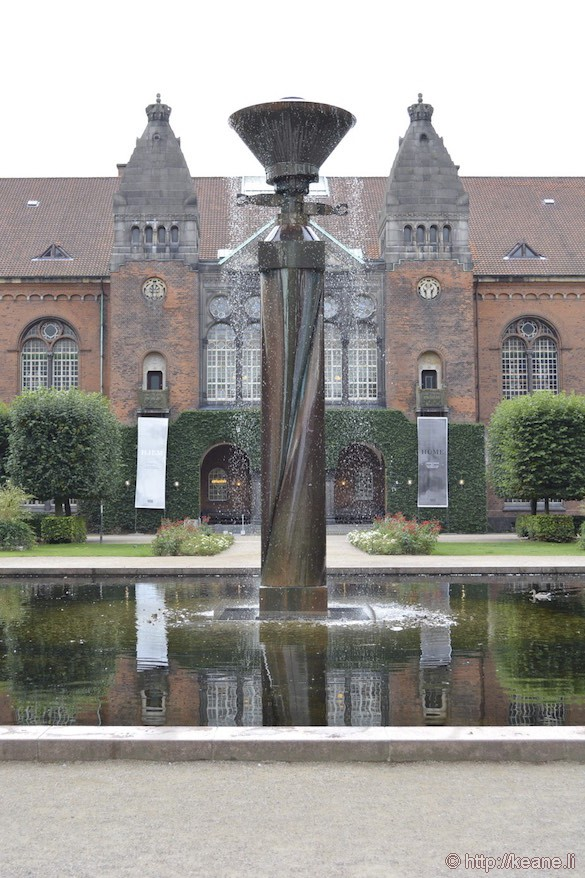 Royal Library Garden in Copenhagen