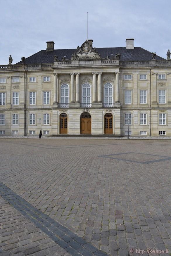 Amalienborg Palace in Denmark