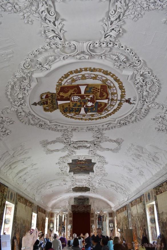 Denmark Rosenborg Castle Hallway