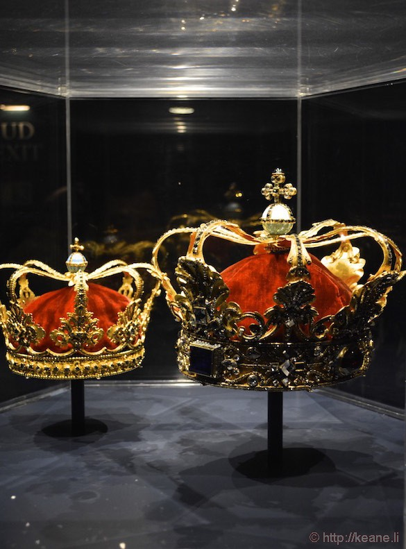 Denmark Rosenborg Castle Crown Jewels