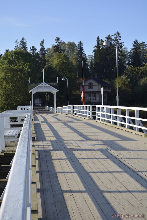 Bridge in the Seurasaari Open-Air Museum in Helsinki