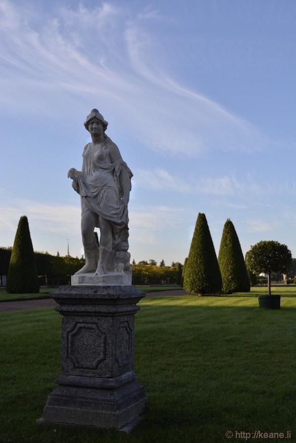 Statue in Peterhof Palace Gardens