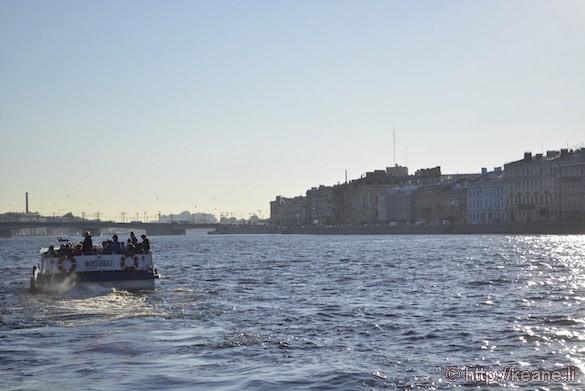 Ferry in St. Petersburg