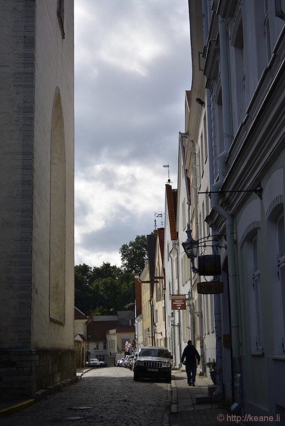 Inside Historic Tallinn