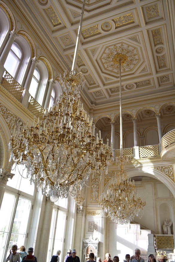 Grand Room in Peterhof Palace
