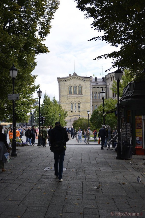 Downtown Oslo, Norway