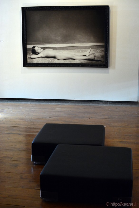 """""""Bellissima"""" by Turi Rapisarda at the Palazzo Riso, Museo Regionale d'Arte Moderna e Contemporanea di Palermo"""