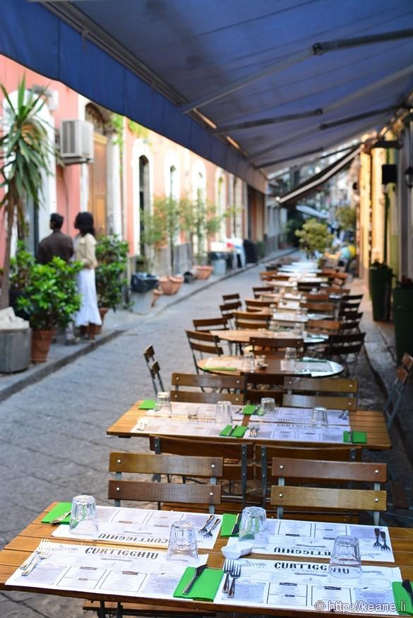 Caffè Curtigghiu on Via Santa Filomena in Catania