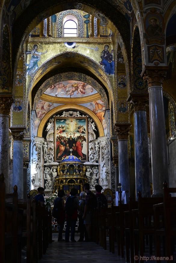 Chiesa della Martorana or the Church of Santa Maria dell'Ammiraglio
