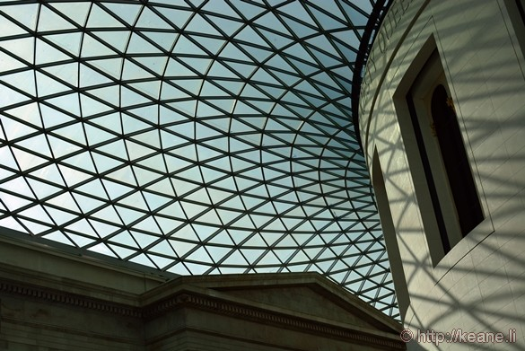 Atrium in the British Museum