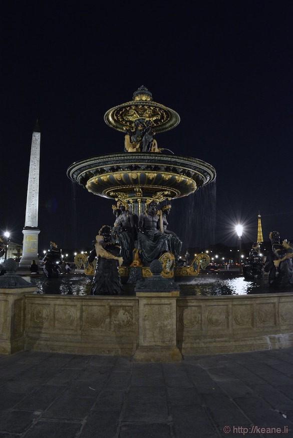 Place de la Concorde - Fontaines de la Concorde