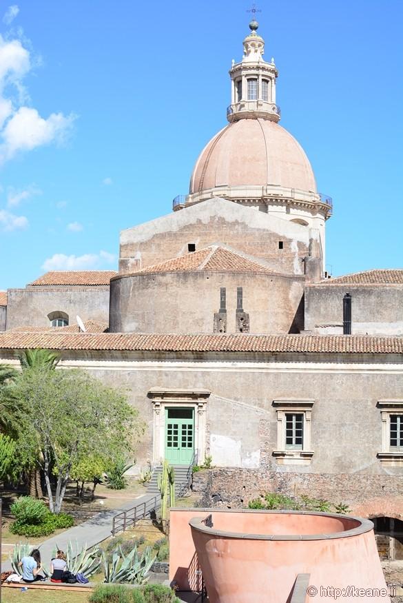 Inside the Monastero dei Benedetti