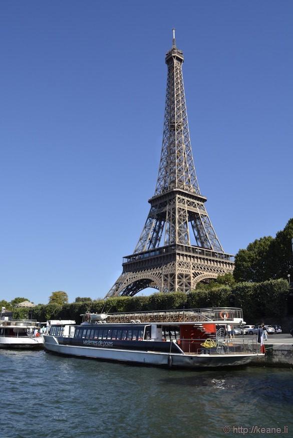 Seine and Eiffel Tower