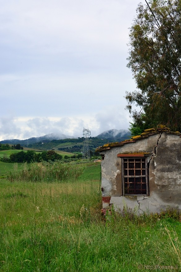 Abandoned Shed in Pisa Countryside