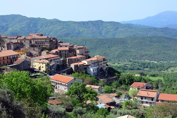 View of Monteforte Cilento