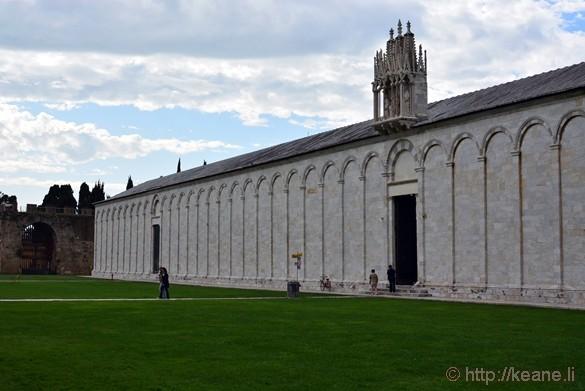 Camposanto Monumentale in Pisa
