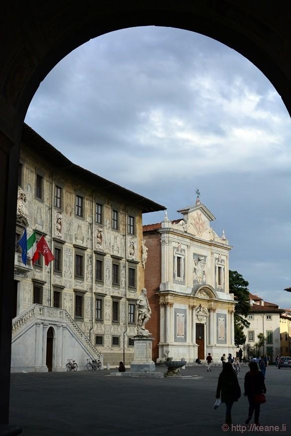 Piazza dei Cavalieri and the Scuola Normale Superiore in Pisa