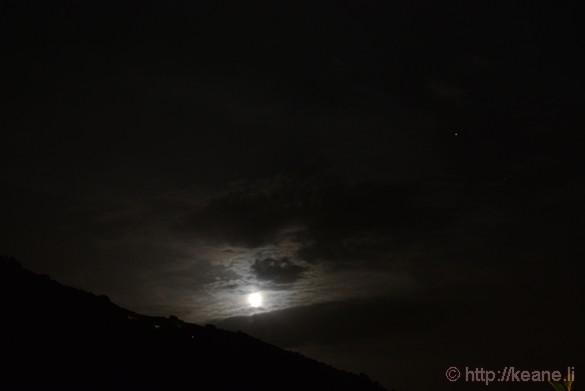 Moon Over Acciaroli