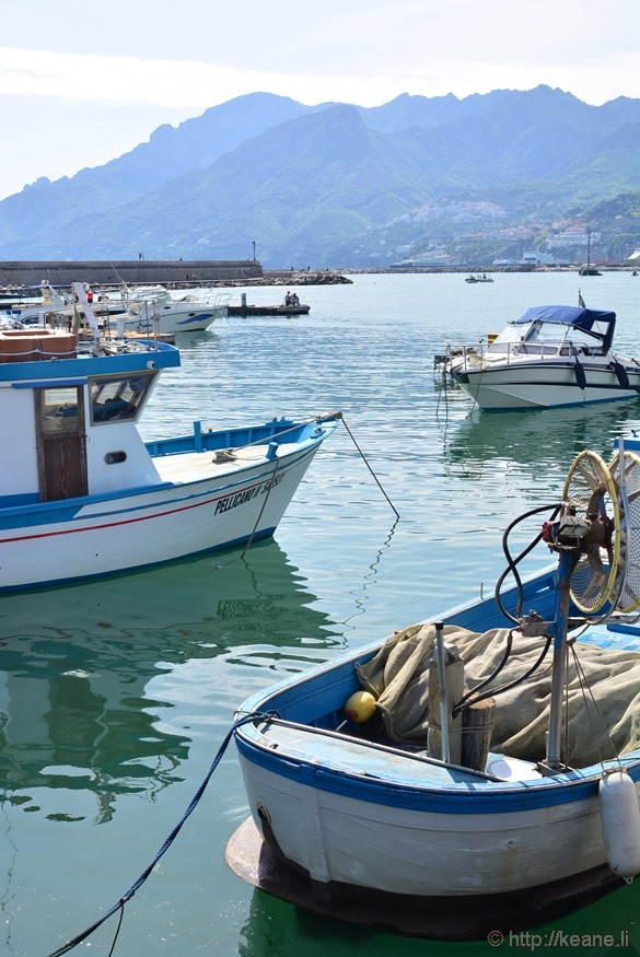 Boats in Salerno