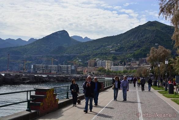 Lungomare di Salerno