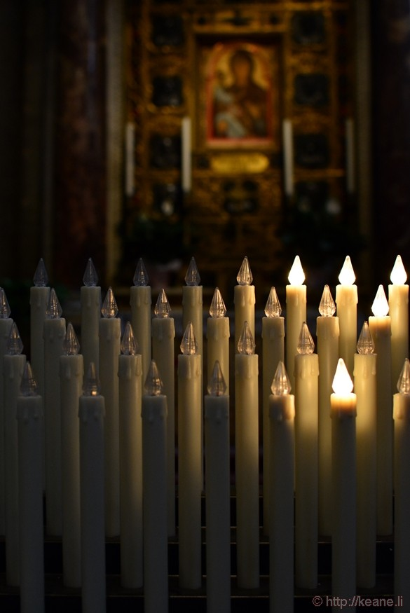 Candles in the Cattedrale di Pisa