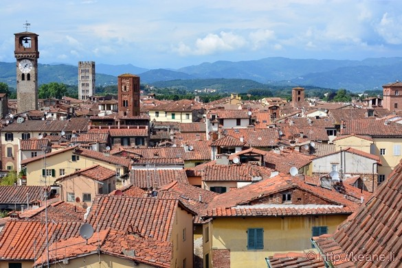 View of Lucca from the Campanile